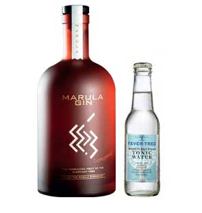 Gozar Gin - Red Marula + Fever Tree Mediterranean